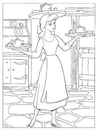 Cinderella Coloring Pages Online Free Games 2