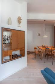 Colorful Pattern Rug 60s Style Built In Cabinet Desginer Loft Berlin Mid Century Modern Design