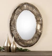 Wayfair Oval Bathroom Mirrors by Uttermost Vevila Oval Mirror U0026 Reviews Wayfair