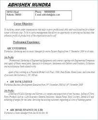 Business Plan Resume Executive Summary Template
