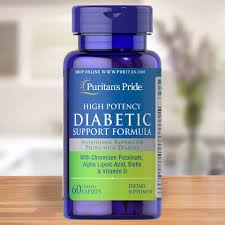 Puritan's Pride - Our High Potency Diabetic Support ...