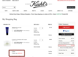 Kiehls Promo Codes / The Best Discount Codes