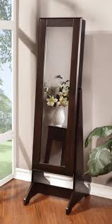 Mirrored Jewelry Box Armoire by Furniture Full Length Mirror Jewelry Box For Storage Ideas