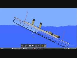 titanic sinking animation 2012 titanic sinking simulation