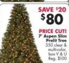 Slim Pre Lit Christmas Trees by All Pre Lit Christmas Trees 50 Off At Fred U0027s On Black Friday