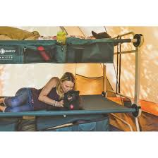 large disc o bed with side organizers 283228 cots at