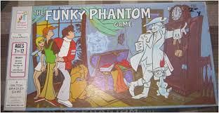 Funky Phantom Board Game Box