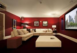 Image Of Contemporary Basement Paint Color Ideas