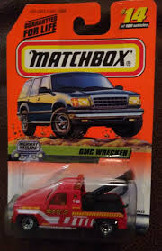 MATCHBOX DIECAST #14 GMC Wrecker Tow Truck Red NIP - $6.99 | PicClick Matchbox Urban Tow Truck Cream No Sealed Packing 2005 Cars Wiki Fandom Powered By Wikia Jual Di Lapak 99 Garage E_toys_cave Miniature Storage Yard Classic Ford Zephyr Mark Ii Matchbox 3 Peterbilt Eddies Wrecker Tow Truck Diecast Red Lorry Toy Tow Truck Thames Trader Wreck Aa Rac Gmc Franks Getty 24 Hr Towing Clearance Reproduction Lesney 13 Dodge Bp Gas 1965 Lesney Bp Yellow Shprare Lot Of Diecast Colctible Toysbox Solido 53 Chev 118 Matchbox Urban Green Youtube