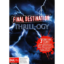 Final Destination Tanning Bed by Final Destination Thrill Ogy Final Destination 1 3 Dvd Big W