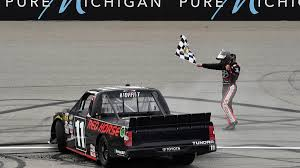 100 Win A Truck Brett Moffitt And Toyota Win NSCR Truck Series Race At Michigan