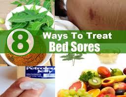 8 Ways To Treat Bed Sores