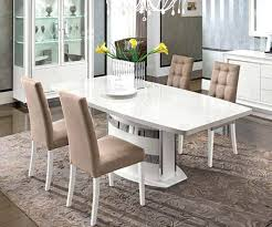 100 White Gloss Extending Dining Table And Chairs High Round