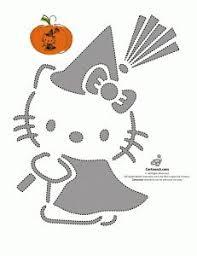 Tmnt Pumpkin Template by Hello Kitty Pumpkin Yep Definitely Using This Stencil On My Jack