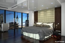ein modernes hotelzimmer suite mit kingsize bett in berlin