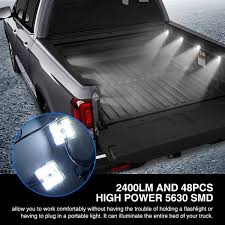 Amazon.com: AUDEW 8Pcs Truck Bed Lights,Super Bright LED Lights With ... Happier Driving A Truck How To Mount Mud Rear Removable Seat Youtube Think Youre Having Bad Day Its 17 Degrees Out Without Being In Much Does Linex Bedliner Cost This Guys Shirt While Riding Truck Bed Rebrncom Hauling Kawasaki Teryx Forum Living The Dream On Bed Of Roses Teardrop Adventures Sheet Metal Keniganamasco Wood Options For Chevy C10 And Gmc Trucks Hot Rod Network Measure Your Accsories Honda Ridgeline Undergoes Another Test Medium Duty Work