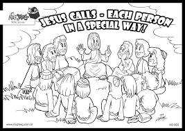 Attractive Inspiration Jesus And The 12 Disciples Coloring Page 6 Best Of