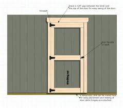 How To Build A Simple Shed Ramp by Shed Doors And Easy Ways To Build Them