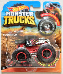 100 16 Truck Wheels HOT WHEELS 2018 MONSTER TRUCKS GIANT WHEELS BONE SHAKER 3