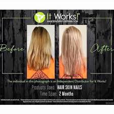 It Works Hsn Vitamins Thinkpawsitive Co Grow Hair Faster And Fuller Skin Nails Review