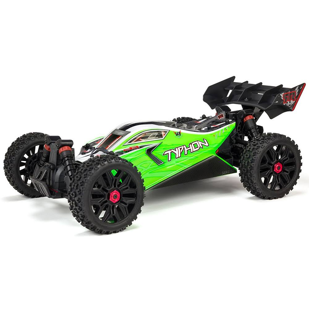 ARRMA Typhon 4x4 MEGA 550 Brushed Spd Buggy RTR - Green, 1/8 Scale