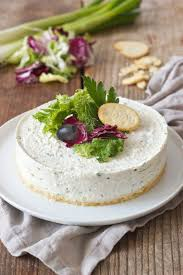 pikanter cheesecake