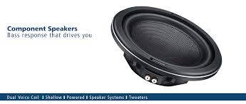 Car Subwoofers | Car Component Speakers | 2 Way Speakers | 3 Way ...
