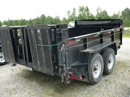 JDJ 10ft 5 Ton Hydraulic Dump Trailer - DUMP5TON | Savage Equipment ...