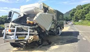 100 Truck Accident Crash Causing Mount Ousley Traffic Delays Illawarra Mercury