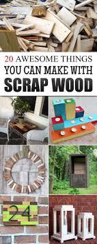 Best 25 Scrap Wood Projects Ideas On Pinterest