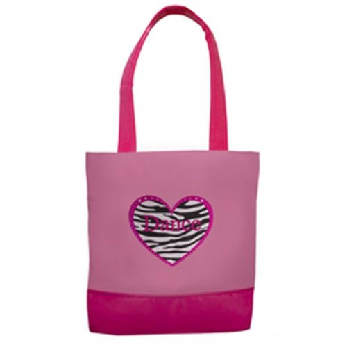 Sassi Designs ZHD 03 Zebra Heart Dance Tote Bag