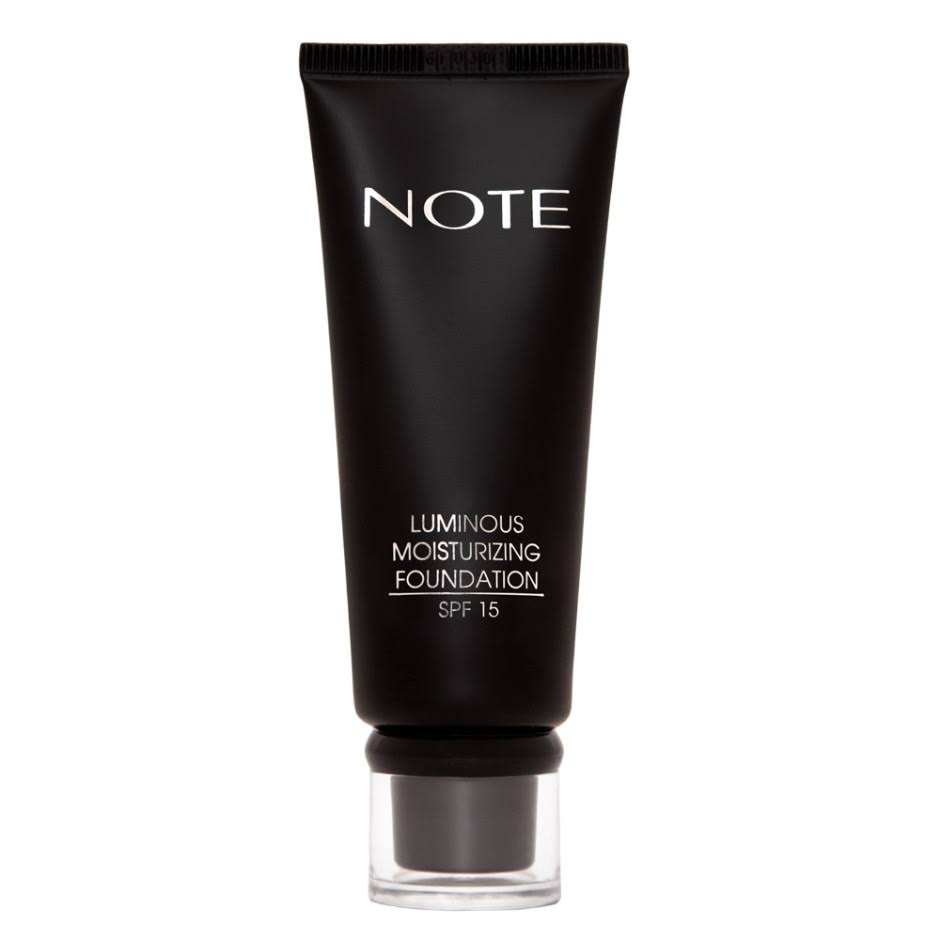 Note Luminous Moisturizing Foundation - SPF15, 01 Beige