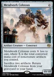 mtg kaladesh standard budget magic deck u b colossus