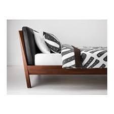 trysil bed frame dark brown luröy bed frames adjustable beds