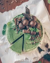 mint and chocolate cheesecake vegan gf sf
