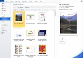How to Find Microsoft Word Templates on fice line