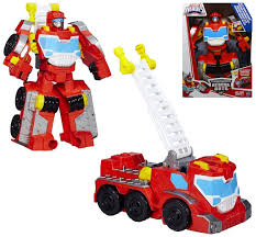 Optimus Prime To Fire Engine Transformers Rescue Bots IN STOCK ...
