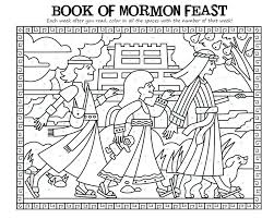 Gallery For Book Of Mormon Stories Coloring Pages