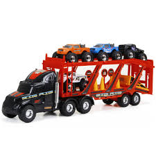 New Bright 22-inch Big Foot Car Carrier With 4 Trucks And ... 4 Set Kids Vehicles Toy Car Toys And Trucks Play Set For Toddlers Truck Kids Driven By Btat Dump Giveaway 4wd Touring Equipment Gear Advice Tips Tricks Tough Sponsor 33 Iola Old Show Fast Lane Pump Action Tow R Us Canada Sd Greenlight Colctibles Electric 4wd Offroad Rc Simulation Truck110 Sca Best Vellow Customs Mod Euro Simulator 2 Fire Trucks Toddler Amazoncom Red Cast Iron Toy Cars Sale Antique Sale Crane Truck Excavator Children Toys Transport Carrier Includes 6