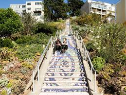 16th Avenue Tiled Steps In San Francisco by Must See Architecture And Design In San Francisco