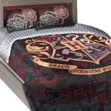 harry potter twin full comforter set house motto bedding