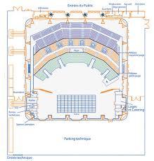 plan du zénith sud montpellier salle de concerts et spectacles