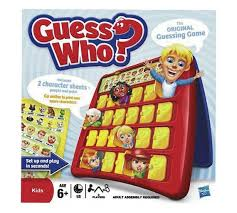 Guess Who Board Game From Hasbro Gaming
