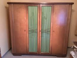 schrank schlafzimmerschrank vintage circa aus den 50er jahren