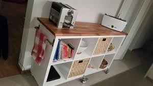 kallax regal mit arbeitsplatte küche handwerk möbel