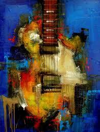 original painting modern abstract by slazo 30x40 slazoart