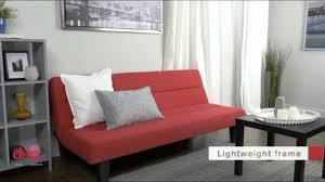 kebo futon sofa bed multicolor convertible sleeper sofas youtube