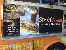 100 Food Trucks In Sacramento Vegan Star Ginger Truck