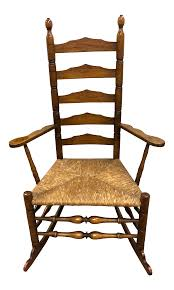 1930's Vintage Wallace Nutting Turned Slat-Back Armed Rocking Chair Pair Of Bentwood Armchairs By Jan Vanek For Up Zvody 1930s Antique Chairsgothic Chairsding Chairsfrench Fniture 1930s French Vintage Childs Rocking Chair Roberts Astley Anyone Know Anything About This Antique Rocking Chair Art Deco Rocking Chair Vintage Wicker Child Beautiful Intricate Detail White Rocker Nice Bana Original Fabric Great Cdition In Plymouth Devon Gumtree Wallace Nutting Turned Slatback Armed Thonet A Childs With Cane Designer Lee Woodard 595 Lula Bs Rare Fully Restored Bana Yeats Country