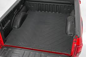 100 Ford Truck Beds Rough Country RCM640 RC Logo Contoured Rubber Bed Mat 5foot